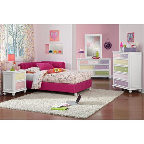 corner beds corner bed pink value city furniture