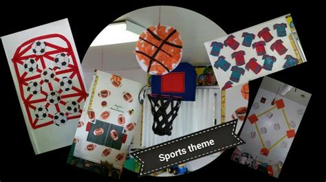 sports themed crafts for sports themed classroom crafts