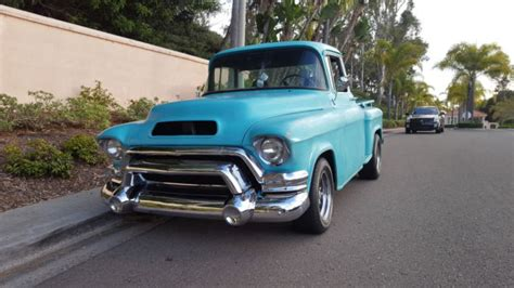 Chevy Truck School by 1955 Chevy 3100 Gmc 100 Big Window Bed