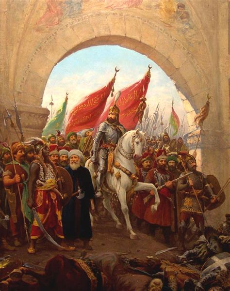 ottomans conquered constantinople today in history 12 august 1480 ottoman sultan mehmed ii