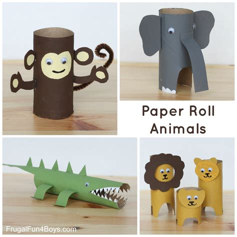 how to make paper craft animals 25 crafts and activities for using everyday