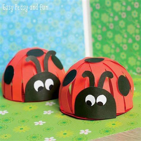 Paper Ladybug Craft Easy Peasy And