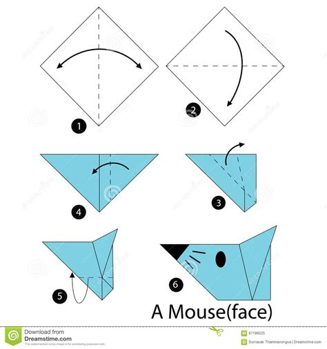how to make an origami mouse step by step how to make origami a mouse