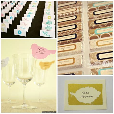 how to make place cards for wedding 16 diy wedding place cards
