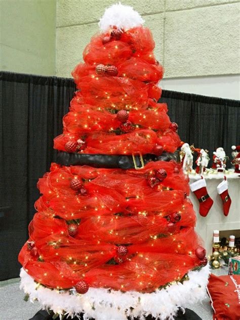 santa themed trees craft ideas for a creative tree craft