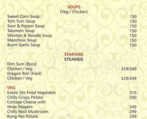banjara melting pot menu menu for banjara melting pot cunningham road bangalore zomato