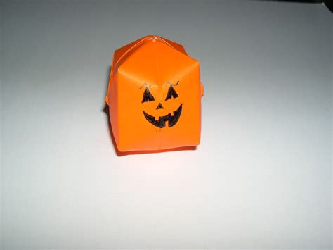 origami pumpkin origami pumpkin folding how to