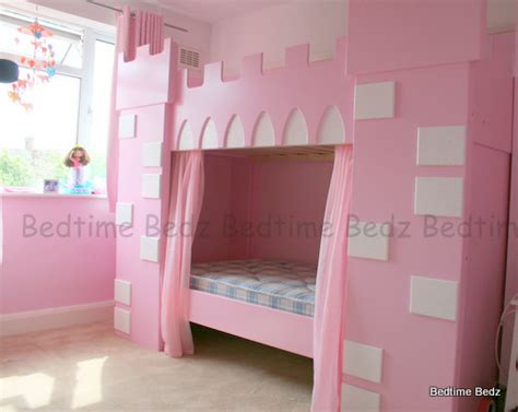 bed princess princess castle theme bunk or cabin bed bedtime bedz