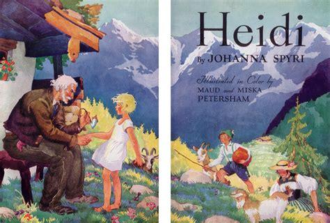 heidi picture book heidi by johanna spyri books