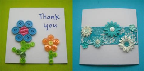 craft card ideas thank you cards think crafts by createforless