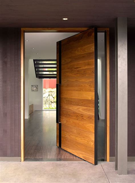 Home Decoration Magazine how modern front doors can reveal the character of your home