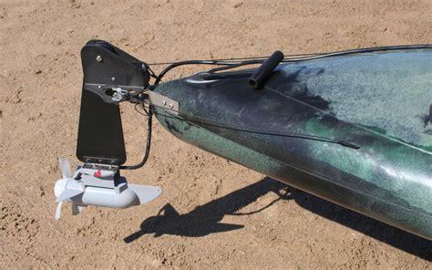 Kayak Electric Motor bass fishing kayak with motor made in australia by
