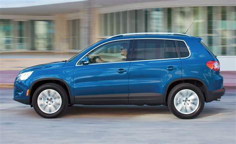 2011 Volkswagen Tiguan Reviews by 2011 Volkswagen Tiguan Review Car Reviews