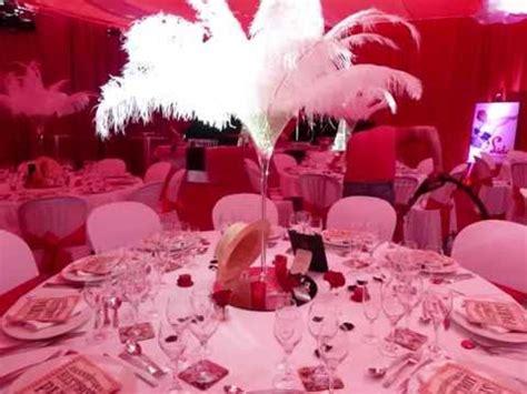 decoration de salle theme cabaret mariage theme cabaret decoration theme et blanc deco