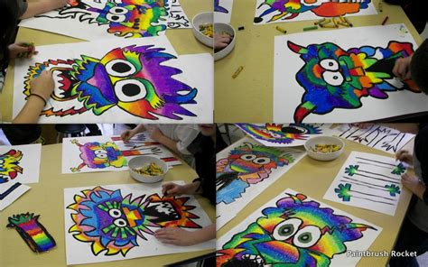 5th grade craft projects paintbrush rocket 5th grade the year of the