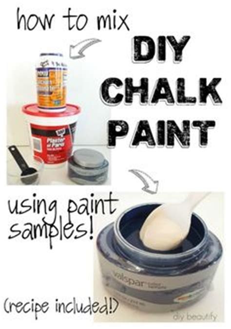 diy chalk paint flat or satin varathane poly chalk paint this comes in satin or a