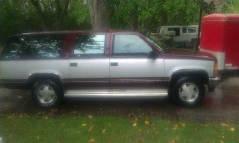 how to sell used cars 1993 gmc suburban 2500 spare parts catalogs find used 1993 gmc suburban 4x4 in kansasville wisconsin united states