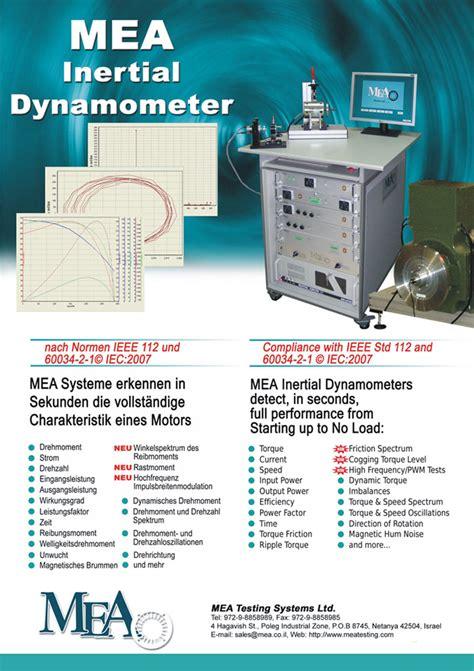 Motoare Electrice De Mici Dimensiuni by Echipamente Pentru Testare Motoare Electrice Dinamometre