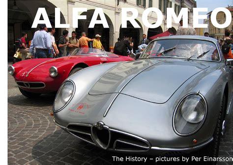Alfa Romeo History by History Of Alfa Romeo By Per Einarsson Issuu
