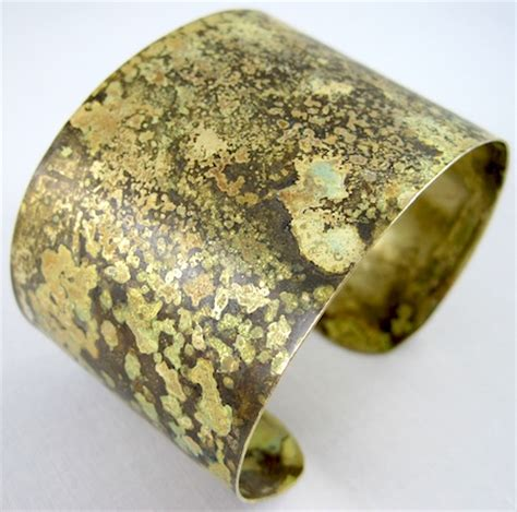how to make brass jewelry easy patina finishes for copper and brass a tutorial