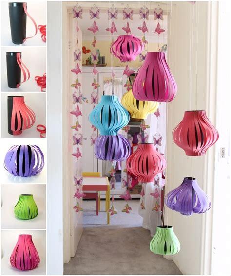 paper lantern craft ideas diy paper lanterns for outdoor decoration