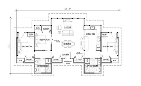 floor plans for homes one story 3 bedroom house plans one story marceladick