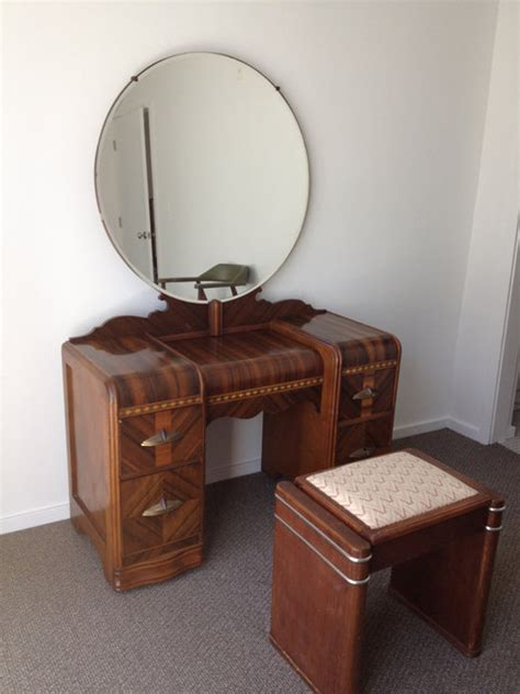 waterfall bedroom furniture 1930s deco waterfall bedroom furniture 6 by