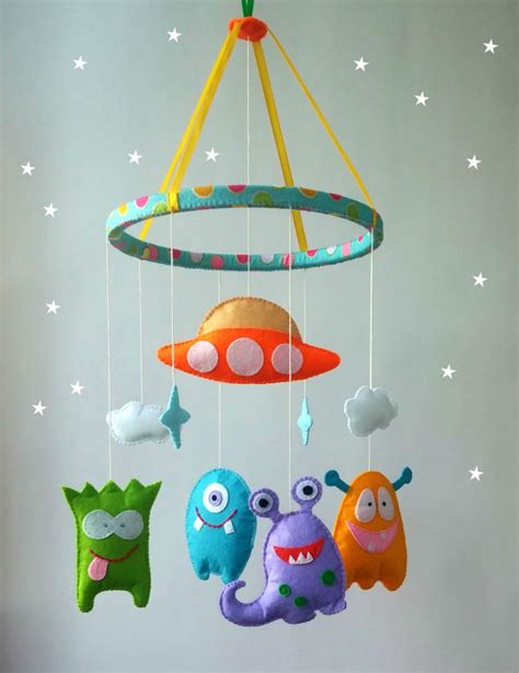 mobile baby crib felt nursery mobile cot mobile hanging crib by zootoys