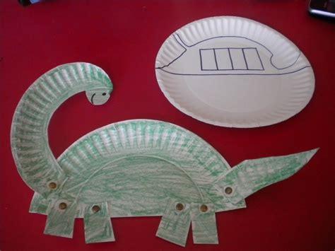 dinosaur paper plate craft paper plate dinosaur dinosaurs