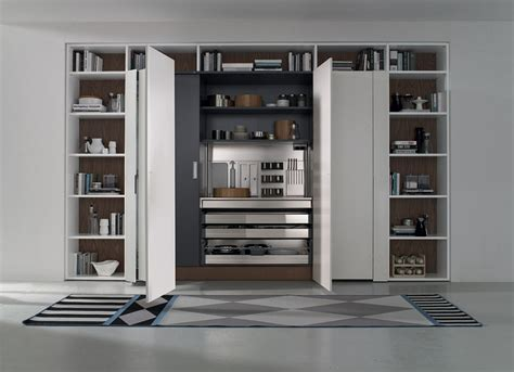Corner Cabinet Solutions In Kitchens contemporary italian kitchen space saving versatile