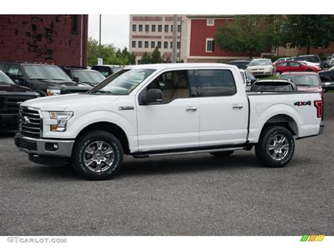 White Ford by 2015 Oxford White Ford F150 Xlt Supercrew 4x4 104900773