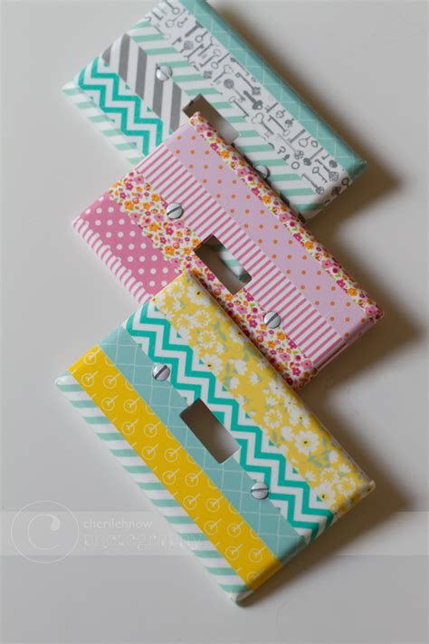 Tinkerwiththis Craftilicious Washi Projects And