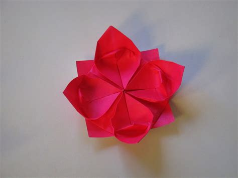 origami flower origami how to make a lotus flower