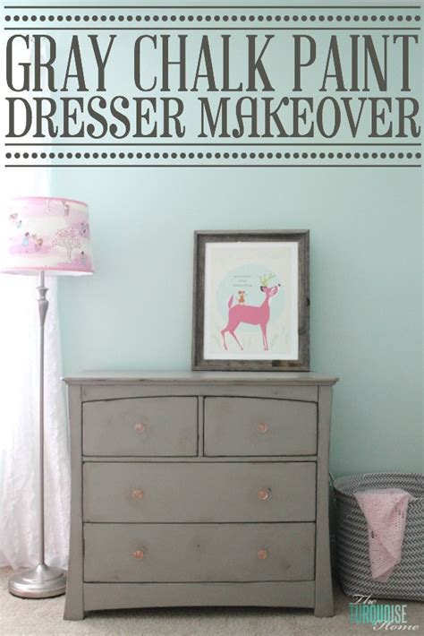 chalk paint that looks like stain gray chalk paint dresser makeover the turquoise home