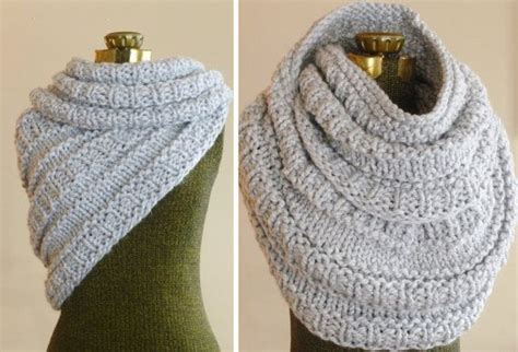 knitted cowls instant knitting pattern the huntress cowl