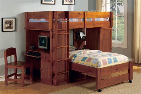 bunk beds and desk combos loft bed desk combo fortikur