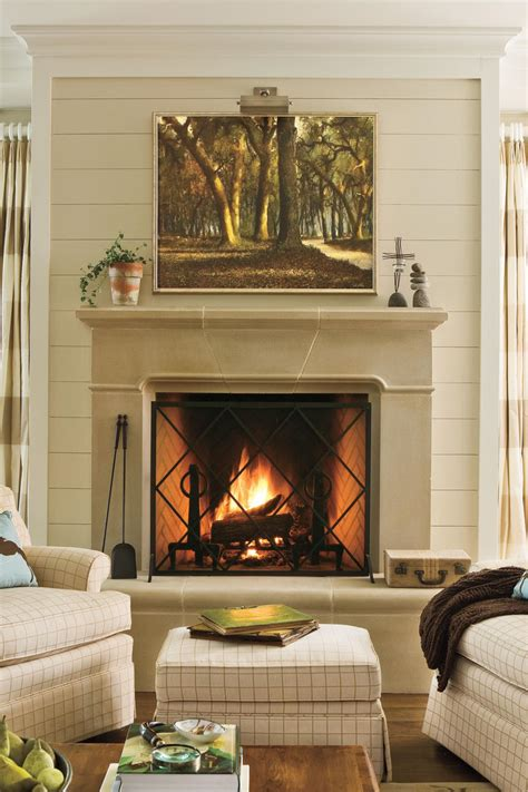 decorating a mantel for 25 cozy ideas for fireplace mantels southern living