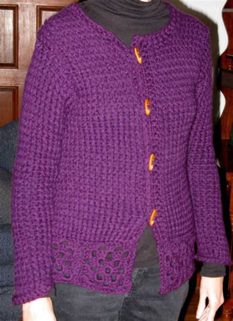 Loom Knit Sweater Patterns A Knitting