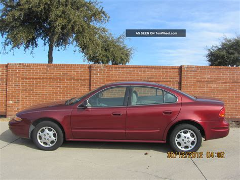 how to work on cars 2003 oldsmobile alero auto manual 2003 oldsmobile alero red everything works automatic