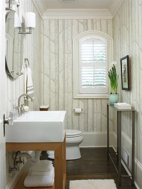 wallpaper in bathroom ideas 25 powder room design ideas for your home