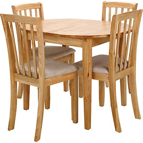 homebase dining table and chairs hygena emmett extending oak dining table 4 green chairs