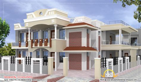 home design for in india indian home design with plan 5100 sq ft indian home