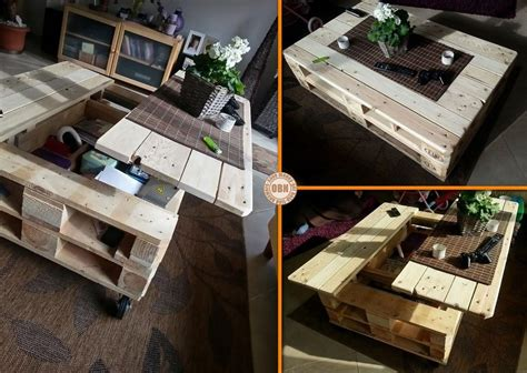 pallet craft projects diy craft project lift top pallet coffee table find