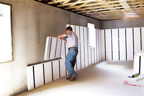what of insulation for basement a basement cost comparison insofast continuous insulation