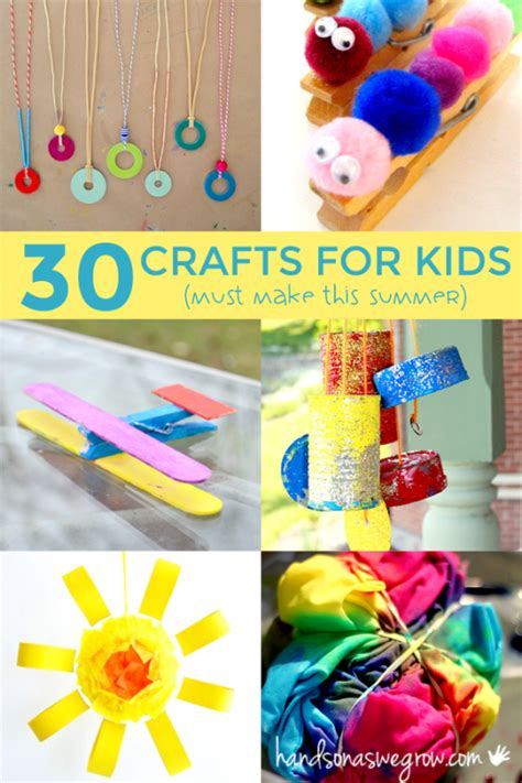 crafts for summer 30 summer crafts for to make on as we grow