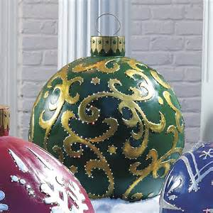 out door decorations outdoor lighted ornaments the green