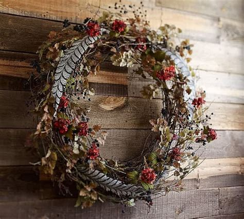 door wreaths pottery barn adorn your house in this with pottery barn wreaths