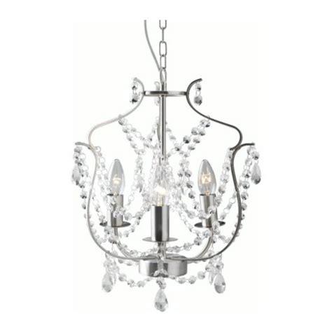 white chandelier ikea kristaller chandelier 3 armed ikea