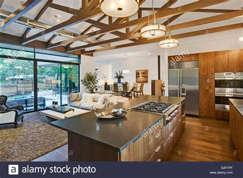 open floor plan kitchen and living room open floor plan of house with kitchen living room and
