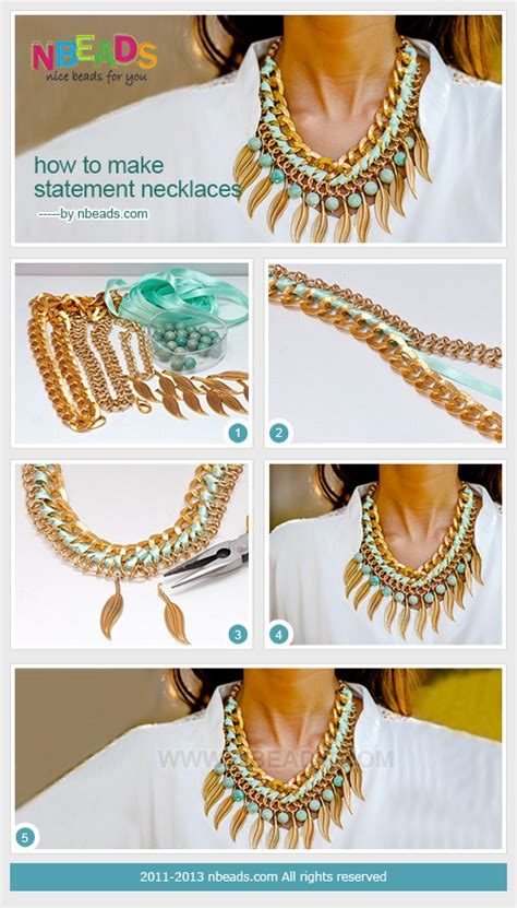 how to make statement jewelry how to make statement necklaces nbeads